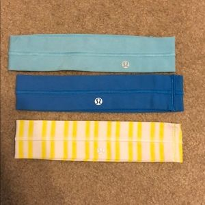 Accessories - Lululemon headbands